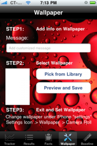 write your own wallpaper app